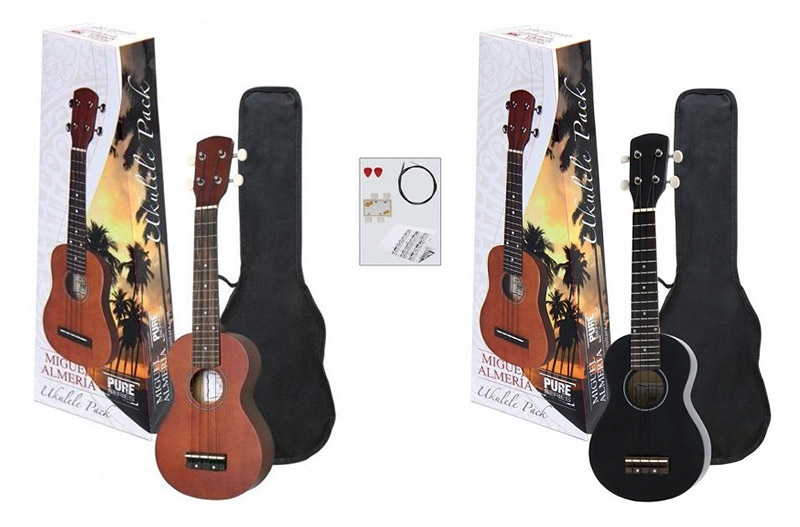 Miguel Almeria Pure ukulele set