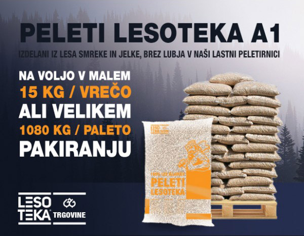 Peleti LESOTEKA A1